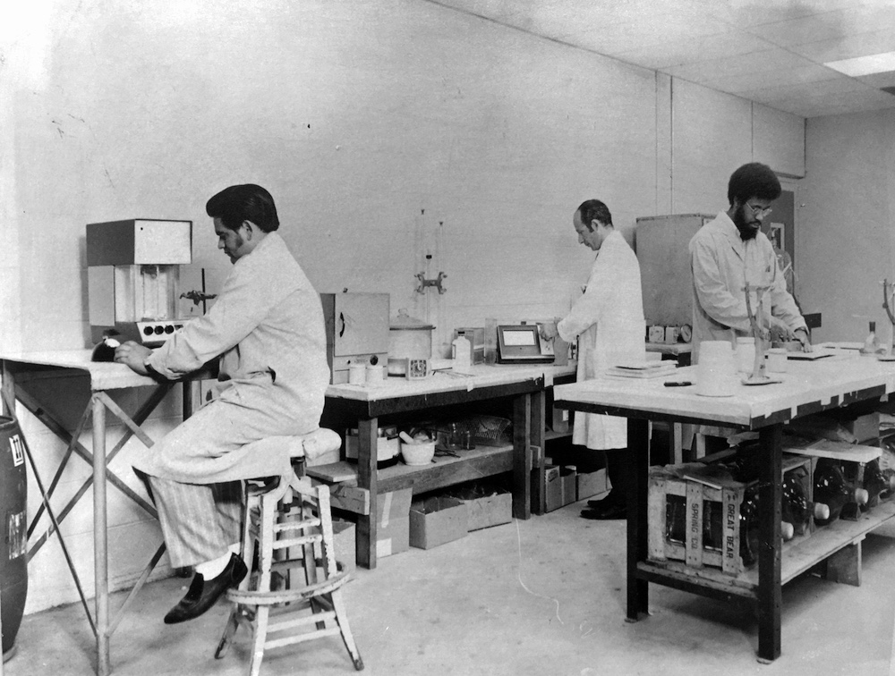 Stanbee factory 1970s 1